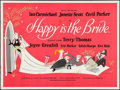 "Movie Posters:Comedy, Happy is the Bride (British Lion, 1958). British Quad (30"" X 40""). Comedy.. ..."