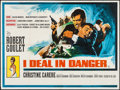 """Movie Posters:War, I Deal In Danger & Other Lot (20th Century Fox, 1966). BritishQuads (2) (30"""" X 40""""). War.. ... (Total: 2 Items)"""