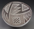 American Indian Art:Pottery, A Socorro Black-On-White Bowl. c. 1100 - 1250 AD. ...