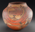 American Indian Art:Pottery, A Zia Polychrome Jar . c. 1935...