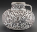 American Indian Art:Pottery, A Tularosa Black-On-White Pitcher. c. 1100 - 1250 AD...