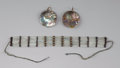 American Indian Art:Jewelry and Silverwork, Two Plateau Jewelry Items. ... (Total: 2 )