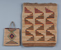 American Indian Art:Beadwork and Quillwork, Two Plateau Cornhusk Bags. c. 1910 and 1930 ... (Total: 2 Items)