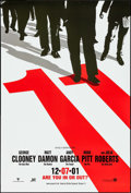 """Movie Posters:Crime, Ocean's 11 (Warner Brothers, 2001). One Sheet (27"""" X 40"""") DS Advance. Crime.. ..."""