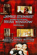 """Movie Posters:Hitchcock, Rear Window (Paramount, R-1990s). One Sheet (27"""" X 40"""") SS. Hitchcock.. ..."""