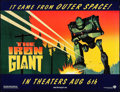 "Movie Posters:Animation, The Iron Giant (Warner Brothers, 1999). Subway (46.5"" X 60"") SSAdvance. Animation.. ..."