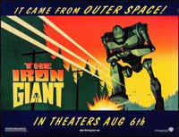 "The Iron Giant (Warner Brothers, 1999). Subway (46.5"" X 60"") SS Advance. Animation"