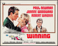 "Movie Posters:Sports, Winning (Universal, 1969). Half Sheet (22"" X 28""). Sports.. ..."