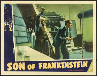 "Son of Frankenstein (Universal, 1939). Lobby Card (11"" X 14""). Horror"