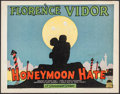 "Movie Posters:Comedy, Honeymoon Hate (Paramount, 1927). Title Lobby Card (11"" X 14""). Comedy.. ..."