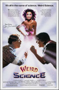 """Movie Posters:Science Fiction, Weird Science (Universal, 1985). Autographed One Sheet (27"""" X 41""""). Science Fiction.. ..."""