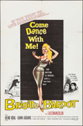 """Movie Posters:Foreign, Come Dance with Me! (Kingsley International, 1960). One Sheet (27"""" X 41""""). Foreign.. ..."""