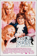 """Movie Posters:Comedy, Austin Powers: International Man of Mystery (New Line, 1997). OneSheet (27"""" X 41"""") DS Style B. Comedy.. ..."""