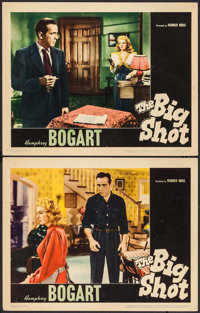 """The Big Shot (Warner Brothers, 1942). Lobby Cards (2) (11"""" X 14""""). Crime. ... (Total: 2 Items)"""