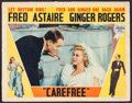 """Movie Posters:Musical, Carefree (RKO, 1938). Lobby Card (11"""" X 14""""). Musical.. ..."""