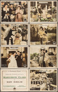 """Movie Posters:Comedy, Bab's Burglar (Paramount, 1917). Lobby Card Set of 8 (11"""" X 14"""").Comedy.. ... (Total: 8 Items)"""