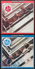 "Movie Posters:Rock and Roll, The Beatles (Apple/EMI, 1978). Sealed Limited Edition Records (2)(12.25"" X 12.5"") Red & Blue Vinyl. Rock and Roll.. ... (Total:2 Item)"