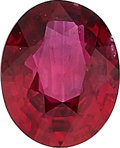 Estate Jewelry:Unmounted Gemstones, Unmounted Burma Ruby. ...