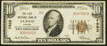 National Bank Notes:Kansas, Glasco, KS - $10 1929 Ty. 1 The First NB Ch. # 7683. ...