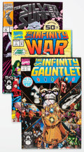 Modern Age (1980-Present):Superhero, The Infinity War-Related Group (Marvel, 1990s) Condition: AverageNM.... (Total: 28 Comic Books)