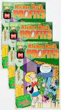 Bronze Age (1970-1979):Cartoon Character, Richie Rich Profits #1 File Copy Group of 100 (Harvey, 1974)Condition: Average NM-....