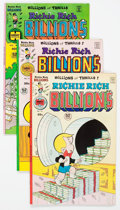 Bronze Age (1970-1979):Cartoon Character, Richie Rich Billions File Copy Short Box Group (Harvey, 1976-82)Condition: Average NM-....