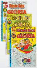 Modern Age (1980-Present):Humor, Richie Rich and Gloria File Copy Short Box Group (Harvey, 1978-82)Condition: Average NM-....