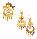 Estate Jewelry:Suites, Victorian Gold-Filled Jewelry Suite. . ... (Total: 3 Items)