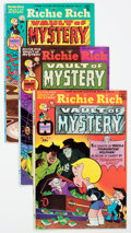 Bronze Age (1970-1979):Cartoon Character, Richie Rich Vault of Mystery File Copy Long Box Group (Harvey,1975-82) Condition: Average NM-....