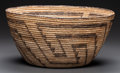 American Indian Art:Baskets, A Pima Coiled Bowl ...
