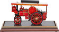 Antiques:Toys, Live Steam Scale Model Showman's Road Locomotive. 12 x 26 x 8 inches (30.5 x 66.0 x 20.3 cm). PROVENANCE:. Christies South...