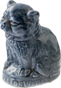 Political:3D & Other Display (1896-present), Woman's Suffrage: Ceramic Cat....