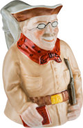 Political:3D & Other Display (1896-present), Theodore Roosevelt: Ceramic Toby Pitcher by Lenox....