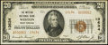 National Bank Notes:West Virginia, Weston, WV - $20 1929 Ty. 2 The Weston NB Ch. # 13634. ...