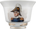 Political:3D & Other Display (pre-1896), Zachary Taylor: Exquisite Hand-Painted Tea Cup....