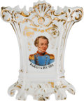 Political:3D & Other Display (pre-1896), Zachary Taylor: Fancy Flower or Spill Vase....