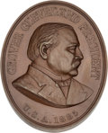 Political:Tokens & Medals, Grover Cleveland: U. S. Mint Indian Peace Medal....