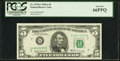 Small Size:Federal Reserve Notes, Fr. 1970-G $5 1969A Federal Reserve Note. PCGS Gem New 66PPQ.. ...