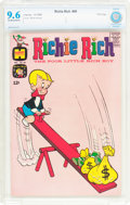 Silver Age (1956-1969):Humor, Richie Rich #40 File Copy (Harvey, 1965) CBCS NM+ 9.6 Off-white to white pages....