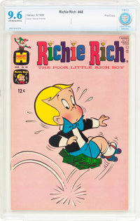 Richie Rich #48 File Copy (Harvey, 1966) CBCS NM+ 9.6 Off-white to white pages