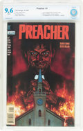 Modern Age (1980-Present):Horror, Preacher #1 (DC, 1995) CBCS NM+ 9.6 White pages....