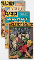 Golden Age (1938-1955):Classics Illustrated, Classic Comics #16, 29, and 36 Group (Gilberton, 1940s) Condition:Average FR/GD.... (Total: 3 Comic Books)