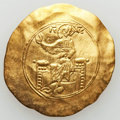 Ancients:Byzantine, Ancients: John II Comnenus (1118-1143). AV hyperpyron nomisma (4.06gm). VF...