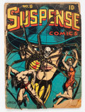 Golden Age (1938-1955):Horror, Suspense Comics #8 (Continental Magazines, 1945) Condition: FR....