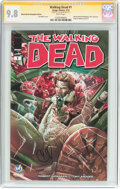 Modern Age (1980-Present):Horror, The Walking Dead #1 Wizard World Philadelphia Edition - SignatureSeries (Image, 2015) CGC NM/MT 9.8 White pages....
