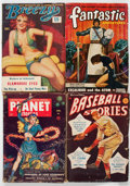 Pulps:Miscellaneous, Assorted Pulps Box Lot (Various, 1920s-50s) Condition: AverageGD....
