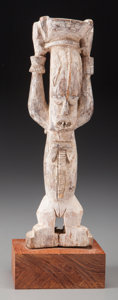 Tribal Art, URHOBO, Nigeria. Standing Female Figure...