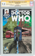 Modern Age (1980-Present):Science Fiction, Doctor Who: The Eleventh Doctor Year Two #3 Wizard World Comic ConEdition - Signature Series (Titan Comics, 2016) CGC NM/MT 9...