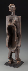Tribal Art, JABA or KORO, Nigeria. Ceremonial Cup Figure. ...