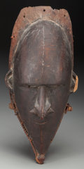 Tribal Art, UNIDENTIFIED GROUP, Possibly Lower Sepik River, Papua, New Guinea,Melanesia . Male Mask...